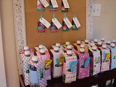Birthday Party Favors (kumari_kt) Tags: birthdayparty bottledwater firstbirthday partyfavors