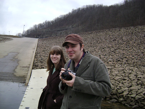 Friends at the Youghiogheny River Dam