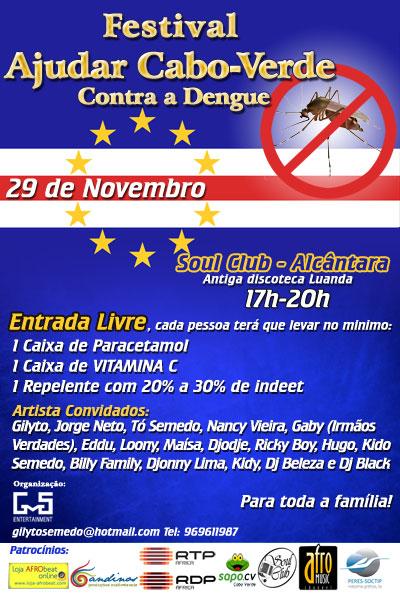 """Festival """"Ajudar Cabo Verde contra a Dengue"""""""