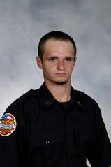 Firefighter Bradly Davies