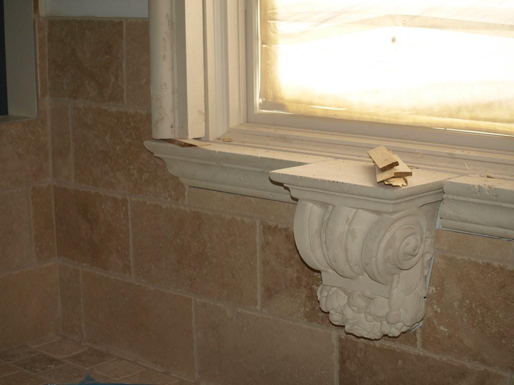 Bathroom Stone Sconce