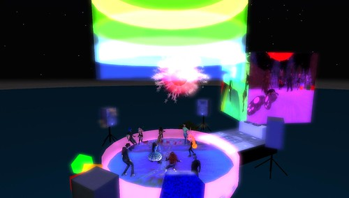 muzik haus party in second life