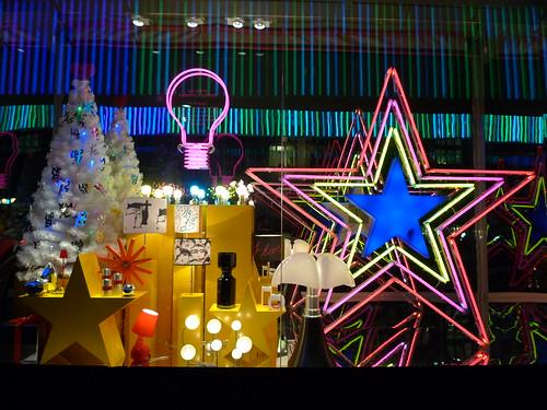 Vitrines de Noël - BHV- Paris décembre 2009