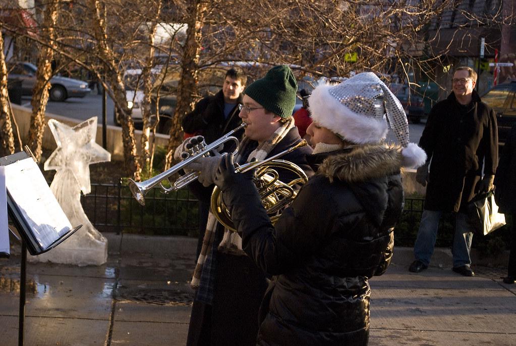 Trumpeting Christmas