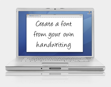 Create Your Own Handwriting Font For Free