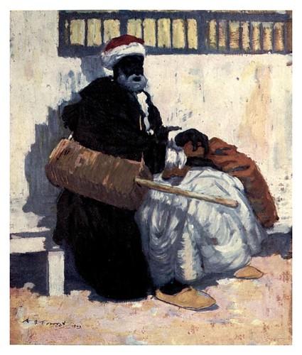 016-Un juglar marroqui-Morocco 1904- Ilustraciones de A.S. Forrest