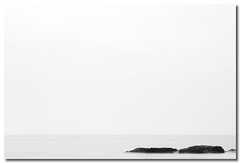 and there (Sam Ilić) Tags: ocean white black canon bay long exposure australia nsw minimalist batemans 450d canon24105mm4