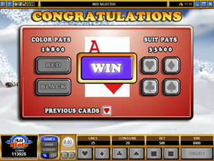 free Polar Pioneers gamble bonus game