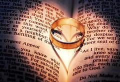 Symbols of Love (MattGerlachPhotography) Tags: love hearts gold book symbol god ring bible scripture symbolism weddingband wordlove symbolsoflove depthsofmyheart