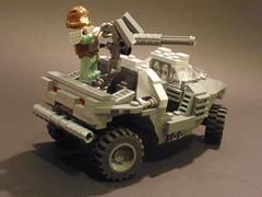 Rear Angle (Jack Marquez) Tags: lego halo warthog brickarms odst