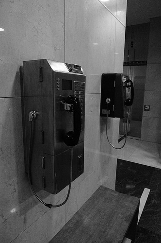 2009/12/26 Day 37 公用電話