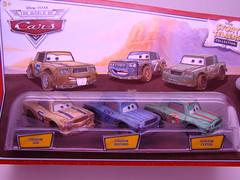 CARS storytellers cousins (7) (jadafiend) Tags: cars wet kids toys team cousins ferrari mater disney tires rhonda pixar target bubba cletus collectors oversized antonio della adults mack showgirls rare exclusive sheila playset disneystore jud f430 pitcrew soaked corsa octane gain buford diecast 3pack hardtofind veloce laverne costanzo 4pack storytellers checkeredflag haulers showstoppers lightningmcqueen finallap brandnewmater rpm64 speedwayofthesouth nostall octain dexterhoover megasized 20pieceset miniandventures haulerset richardclaytonkensington eccelente