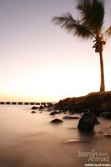 Sunset (Jasmin Ahmad) Tags: beach long exposure saudi arabia jeddah السعودية بحر جدة طويل تعريض