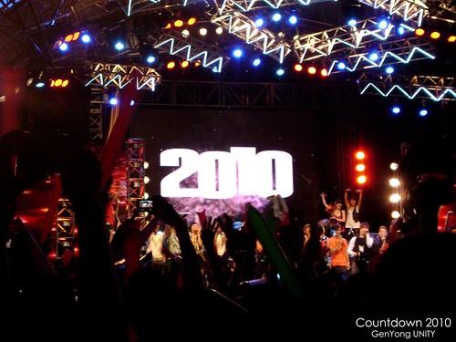 Countdown 2010 @ Queensbay