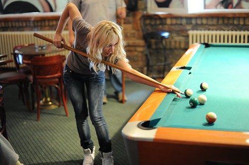 Pool player