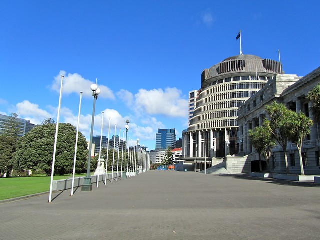 NZ Parliament, Wellington, New Zealand