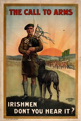 The pipes are calling (National Library of Ireland) Tags: wwi july flags ephemera posters soldiers piper bagpipes harp 20thcentury firstworldwar recruitment irishwolfhound 1916 191418 recruitingposters nationallibraryofireland ephemeracollection