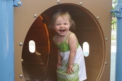 Lilah having fun at the park!