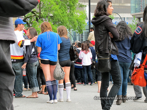 Vancouver Canucks victory party_13
