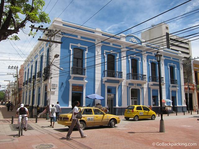 Downtown Santa Marta