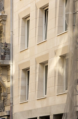 Immeuble de logement, chantier. barrault & pressacco, 2016. Rue Oberkampf, Paris 11. (Clement Guillaume) Tags: rueoberkampf paris11 barrault construction immeubledelogement barraultpressacco architecte rivp architecture pierremassive pierre stone massivestone oberkampf chantier workinprogress paris archiref pressacco 建筑 architectuur arquitetura arquitectura architectes immeuble logement