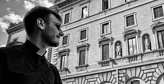 I'm only here for the culture. (Baz 120) Tags: candid candidstreet candidportrait city candidface candidphotography contrast street streetphoto streetcandid streetphotography streetphotograph streetportrait rome roma romepeople romestreets romecandid europe monochrome monotone mono blackandwhite bw noiretblanc urban voigtlandercolorskopar21mmf40 life leicam8 leica primelens portrait people unposed italy italia grittystreetphotography faces decisivemoment strangers