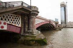 Blackfriars Bridge-1 (Paul Dykes) Tags: bridge london uk england river thames riverthames tidalturningpoint seawater freshwater blackfriarsbridge 18thcentury 19thcentury eighteenthcentury nineteenthcentury williampittbridge