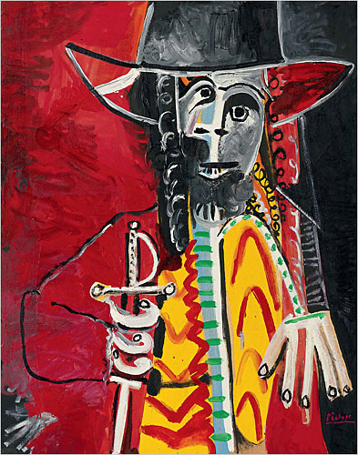 Picasso Musketeer