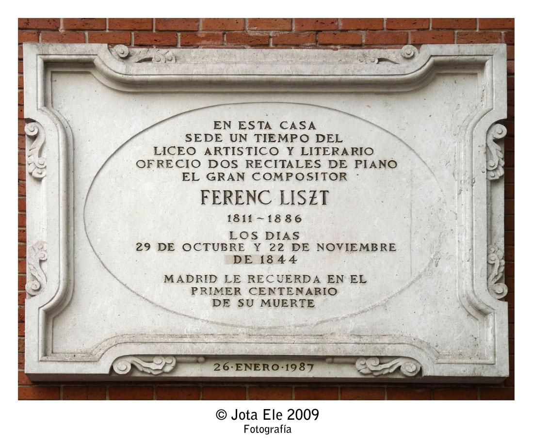 Liszt en Madrid
