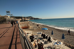 January in Nice, French Riviera - Three Levels (Yurimi) Tags: france nice ctedazur frenchriviera themediterraneansea