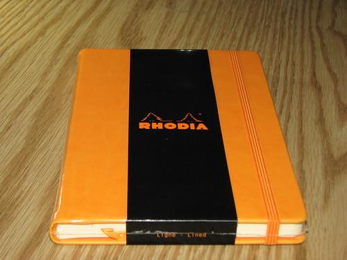 Rhodia Webnotebook Front