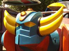 GRANDIZER close-up (AcroRay) Tags: anime kennywood goldrake grendizer grandizer shogunwarrior shogunwarriors superrobot jumbomachinder acroray carnivalrider