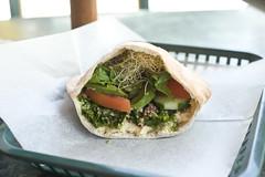 Hummus Tabouleh Pita