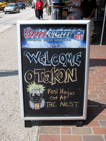Sign at The Nest (Click to enlarge)