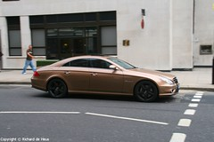 CLS 55 AMG (Richard de Heus) Tags: brown bronze gold mercedesbenz 55 amg cls cls55