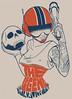 Estampa BDC (Bicicleta Sem Freio) Tags: black art design arte drawing victor castro draw reno douglas desenho renato chalks bicicletasemfreio victorjam