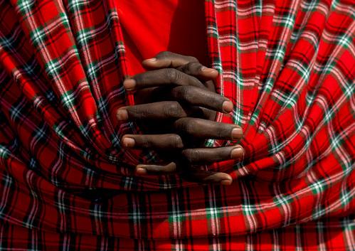 Maasai hands - Kenya