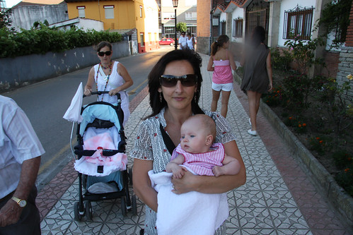 Walking with Mommy