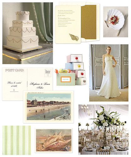 Vintage Seashore Inspiration Board copy