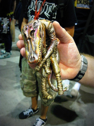 Pushead @ SDCC 2009