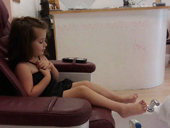 First  Big Girl Pedicure (SmilingStrong) Tags: red playing love feet toes pretty play priceless girly special aunt neice experience sharing learning salon pedicure growing nailpolish biggirl spa learn wiggle storytelling beyonce prissy experiences singlelady admiratioon reexperience