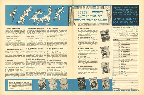 Scholastic Book Sales_SummerTime_1963_tatteredandlost