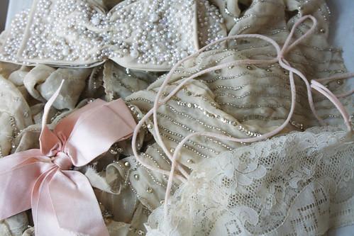 shiny fabrics
