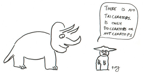 366 Cartoons - 195 - Triceratops