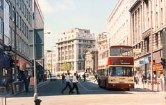 Liverpool 1991 Lord Street (TuebrookDave) Tags: street bus liverpool lord 1991 demolished