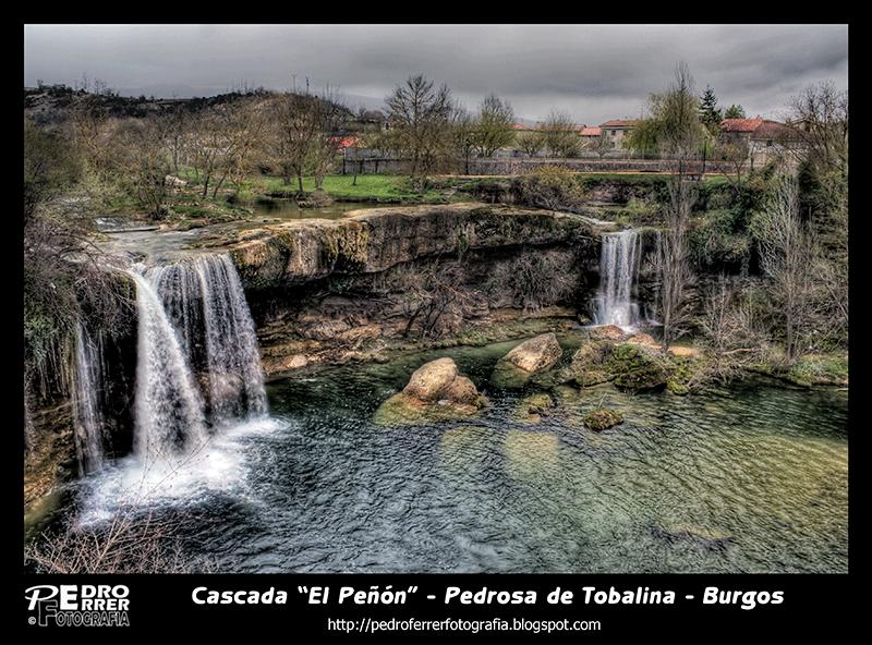 Cascada El Peñon - Pedrosa de Tobalina - Burgos - Spain