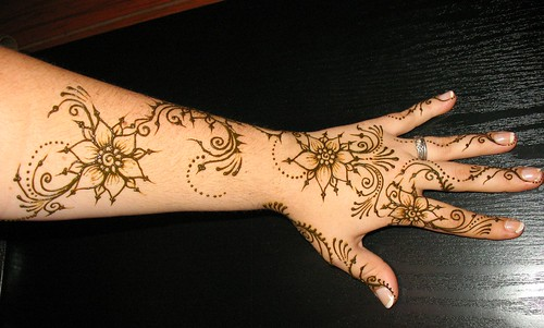 Hand and Arm Mehndi Designs