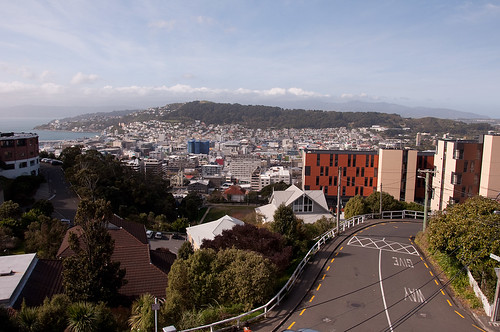 View of Wellington from the flat (bis) - NZ