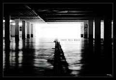 [ leave this world ] (bonnix (Scotty)) Tags: bw white black garage parking deck badenwrttemberg nagold nikkor50mm18 nikond200 niftyfifty leavethisworld