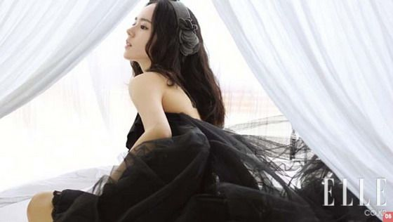 Korea Actress Han Ga In (한가인) Elle Magazine Photos - beautiful girls
